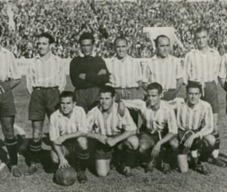 Alineación Betis-Valladolid Liga 1943