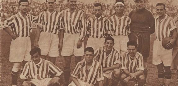 1930-Febrero 11-Patronato Obrero: Real Betis Balompié-1 vs. Iberia SC-1.-85Aniversario.