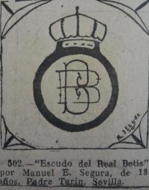 Dibujo infantil del escudo 1930