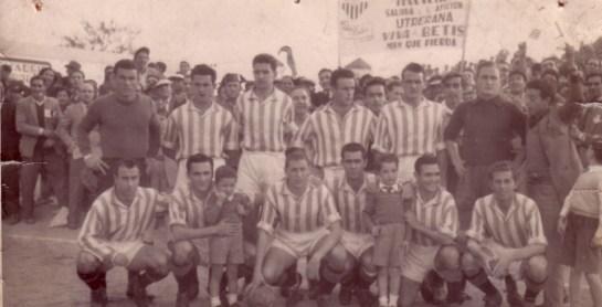 Alineación Utrera-Betis Liga 1953