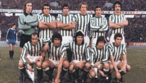 Alineación Dinamo de Moscú-Betis Recopa 1978