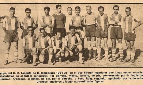 CD Tenerife, un retorno de esperanzas, de Manuel Sarmiento