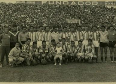 Plantilla temporada 1957-58