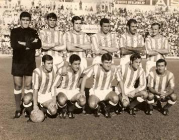 Alineación Betis-Alavés Liga 1968