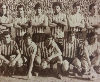 Alineación Rayo-Vallecano Betis Liga 1980