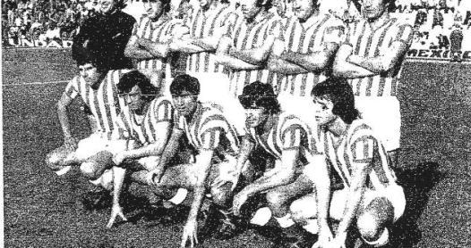 Alineación Betis-Baracaldo Liga 1974