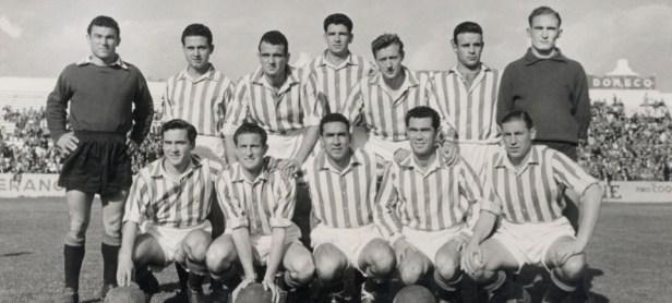 Alineación Betis-Ubeda Liga 1954