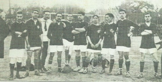 1915-Noviembre 21-Domingo-CptoAndalucia.-Real Betis Balompié-2 Athlétic FbC-2.-100Aniversario.