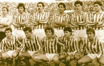 Alineación Betis-Real Madrid Liga 1984