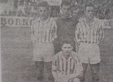 Los tres mosqueteros 1954