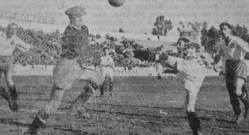 Betis-Zaragoza Liga 1945