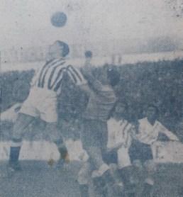 Betis-Emeritense Liga 1950