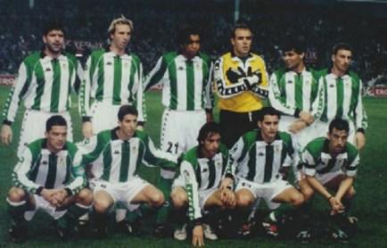 Alineación Athletic-Betis Liga 1999