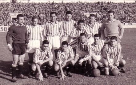 Alineación Betis-Jaén Liga 1955