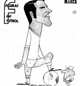 Figuras del Fútbol. Jaime Sabaté
