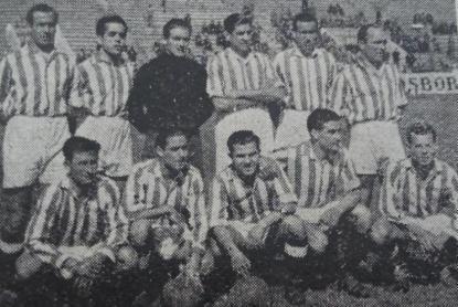 1946-Mayo 19-Amistoso.-Real Betis Balompié-5 Real Club Deportivo Córdoba-1.-70Aniversario.