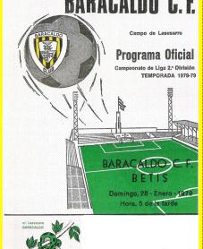 Baracaldo-Betis Liga 1979