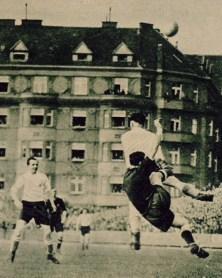 Béticos en la selección. Praga 1936