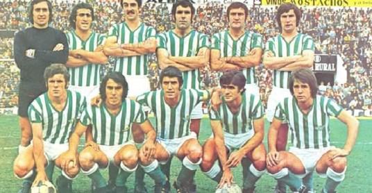 Alineación Betis-Burgos Liga 1974
