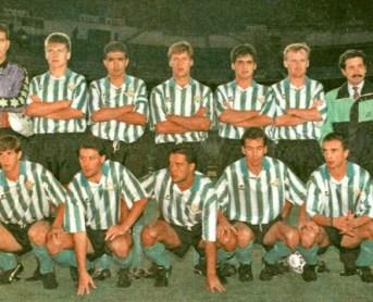 Alineación Castilla-Betis Liga 1991