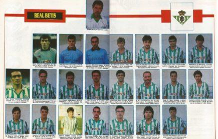 El Betis en Don Balón 1989