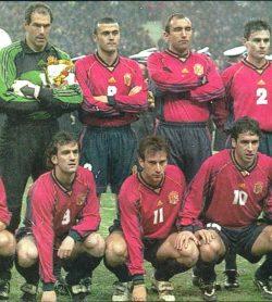 Béticos en la selección. París 1998