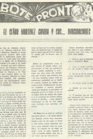 1961-Octubre-Bote Pronto.-Al quinto poder siempre se les debería aplicarles nuestra quinta enmienda ya basta.