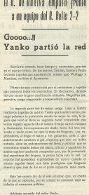 1961-Mayo 17-Amistoso.-Real Betis Balompié-2 Real Club Recreativo Huelva-2