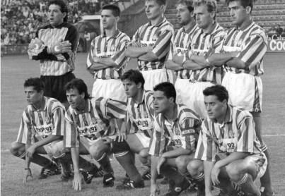 Alineación Betis-Deportivo Promoción 1992