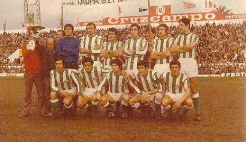 Alineación Betis-Granada Liga 1972