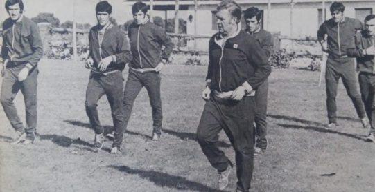 Entrenamiento en Madrid 1972