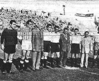 1954-Septiembre 5.-O'Connell.-Real Betis Balompié-2 Selección Andaluza-0.-62Aniversario.