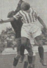 1933-Octubre 22.-Mancomunado Centro-Sur.-Betis Balompié-2 SevillaFc-2.-83Aniversario.
