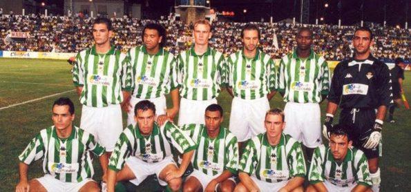 Alineación Betis-Lazio Trofeo Carranza 1999