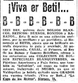 Publicidad Bolsos Casal 1954