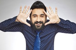 Stand-up comedian and singer Vir Das provides fashion lessons on mixing shirts with ties