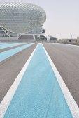 The Yas Marina circuit hosts the Abu Dhabi F1 grand prix