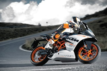 The KTM RC 200 and RC 390 are probably the hottest new bikes in India
