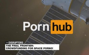 Pornhub wants to shoot a sex tape in space