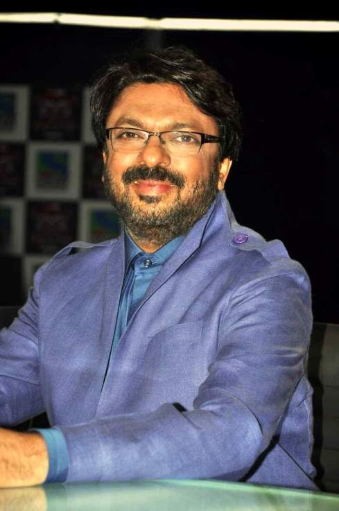 Sanjay Leela Bhansali at X Factor Finalists Introduction Event. Photo: FilmiTadka.