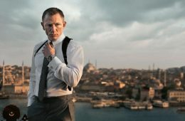 Daniel Craig with Planet Ocean 42mm_SKYFALL