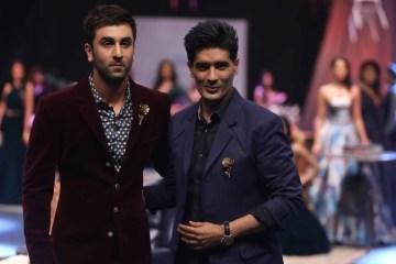Ranbir Kapoor and Manish Malhotra at LFW WF 15