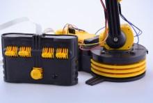 Robot arm base and controller