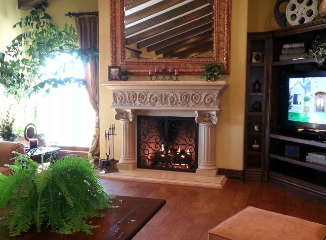 Fireplace Mantels in San Diego