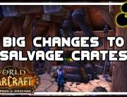 Big Changes to Salvage Crates