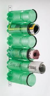 Orden y decoración en casa con botellas recicladas