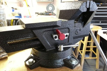 Husky 5 Inch Quick Release Bench Vise