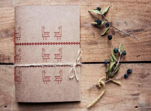 Notebook tascabile Gallinella
