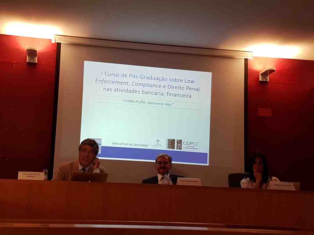 Pós Graduação - Law Enforcement - 20160719 Orador 2: Paulo de Sousa Mendes