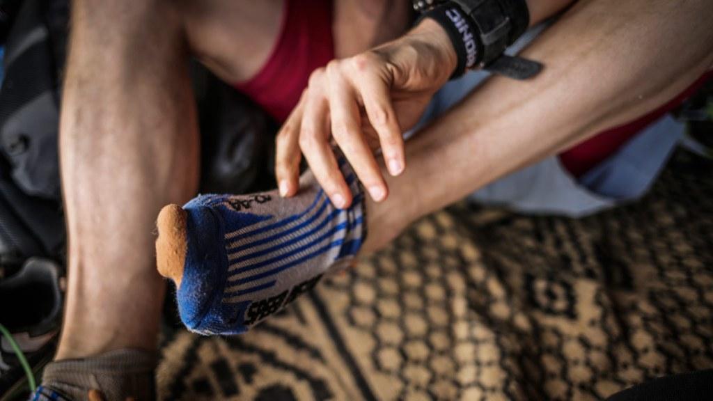 Marathon des Sables feet